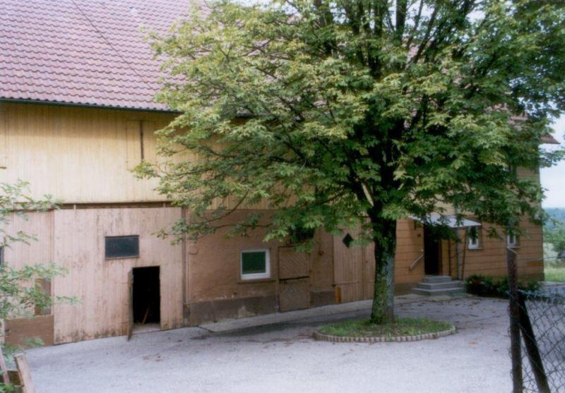 Haus aus Westen