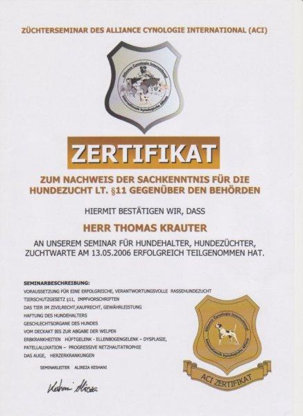 zuechterzertifikat
