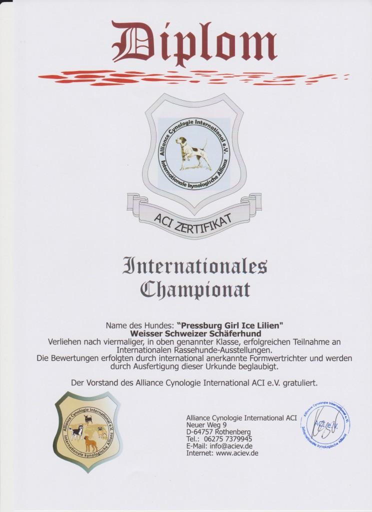 Internat. Championat Eva