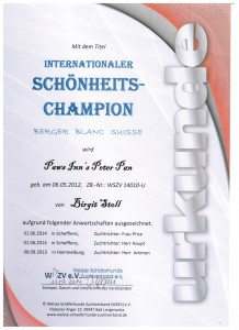 Internat. Champion